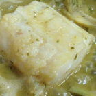 "PRESCRIPTION COD WITH ARTICHOKES ""AMB ABADEIXO CARXOFES"""