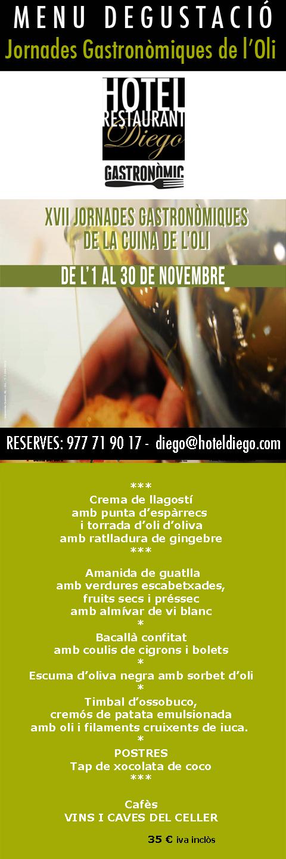menu Restaurante Gastronomico Tarragona
