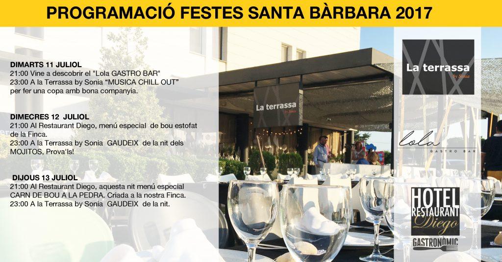 Festes Santa Bàrbara Tarragona
