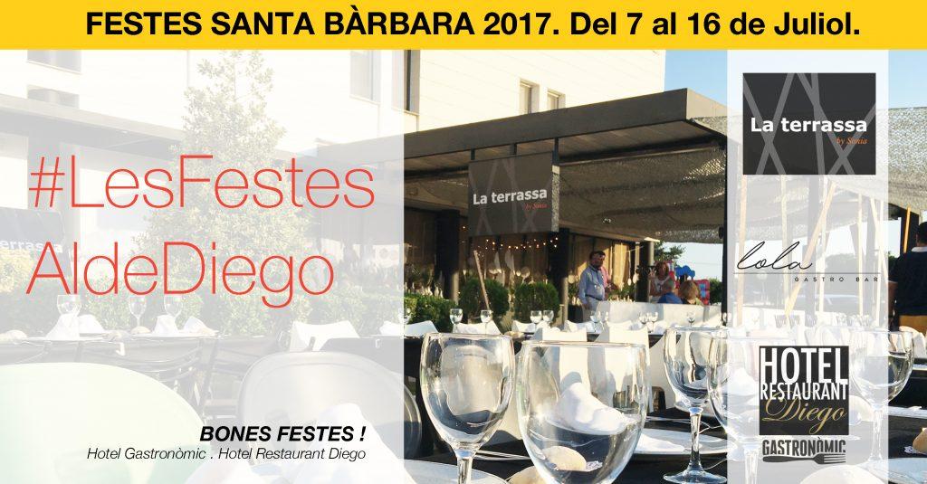 Festes de Santa Bàrbara 2017